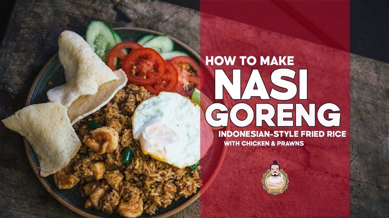 Nasi Goreng Indonesian Fried Rice Fried Rice Friday 3 Youtube