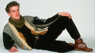 PETER CAPALDI's Hilariously Cheesy Old Modeling Photos - The Graham Norton Show on BBC AMERICA