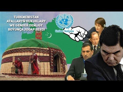 Turkmenistan Aýallaryň Hukuklary we Gender Deňligy Boýunça Jogap Berdi
