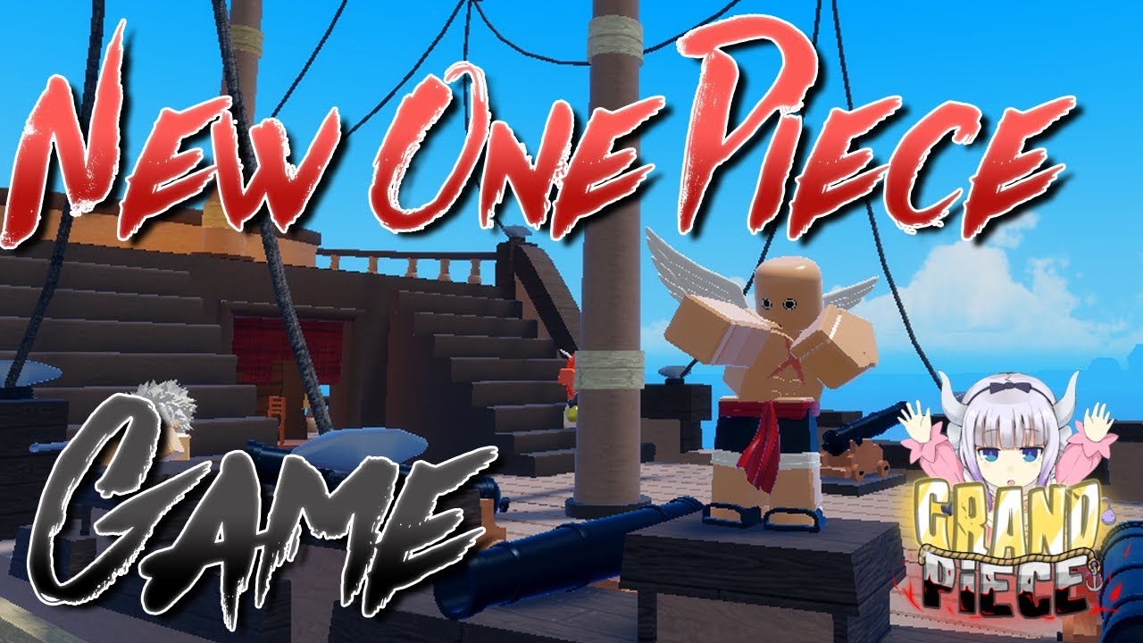 Upcoming One Piece Game Coming Soon! | Grand Piece Online | ROBLOX