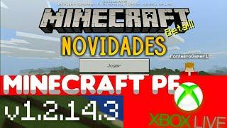 DOWNLOAD MINECRAFT PE 1.2.14.3 SEM VERIFICAÇÃO DE LICENÇA - NOVA ATUALIZAÇÃO MINECRAFT PE 1.3
