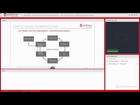 Softline Webcast: »Software LifeCycle Management − Wo schlum