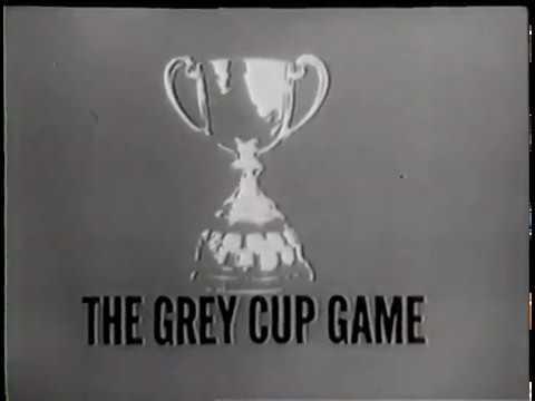 1962 CFL Grey Cup CBC Pre game  Original TV Winnipeg vs Hamilton Tiger Cats