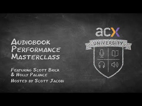 Audiobook Performance Masterclass