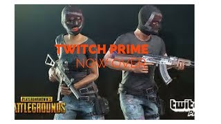 List How To Get Twitch Prime Items In Pubg | Tutorial