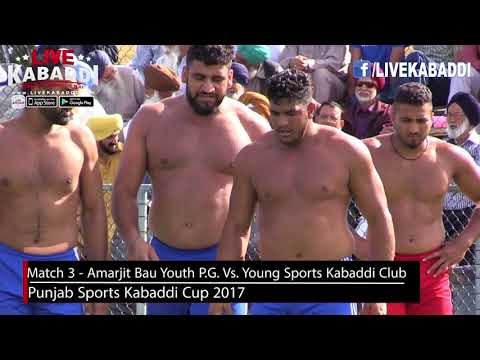 Match 3 - Amarjit Bau Youth Prince George Vs. Young Sports K