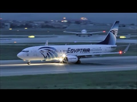 [HD] Egyptair Boeing 737-800 takeoff at Istanbul Ataturk Airport - 10/10/2015
