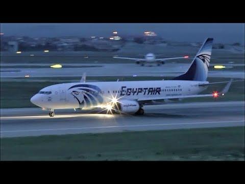 [HD] Egyptair Boeing 737-800 Takeoff At Istanbul Ataturk Airport - 10/10/2015