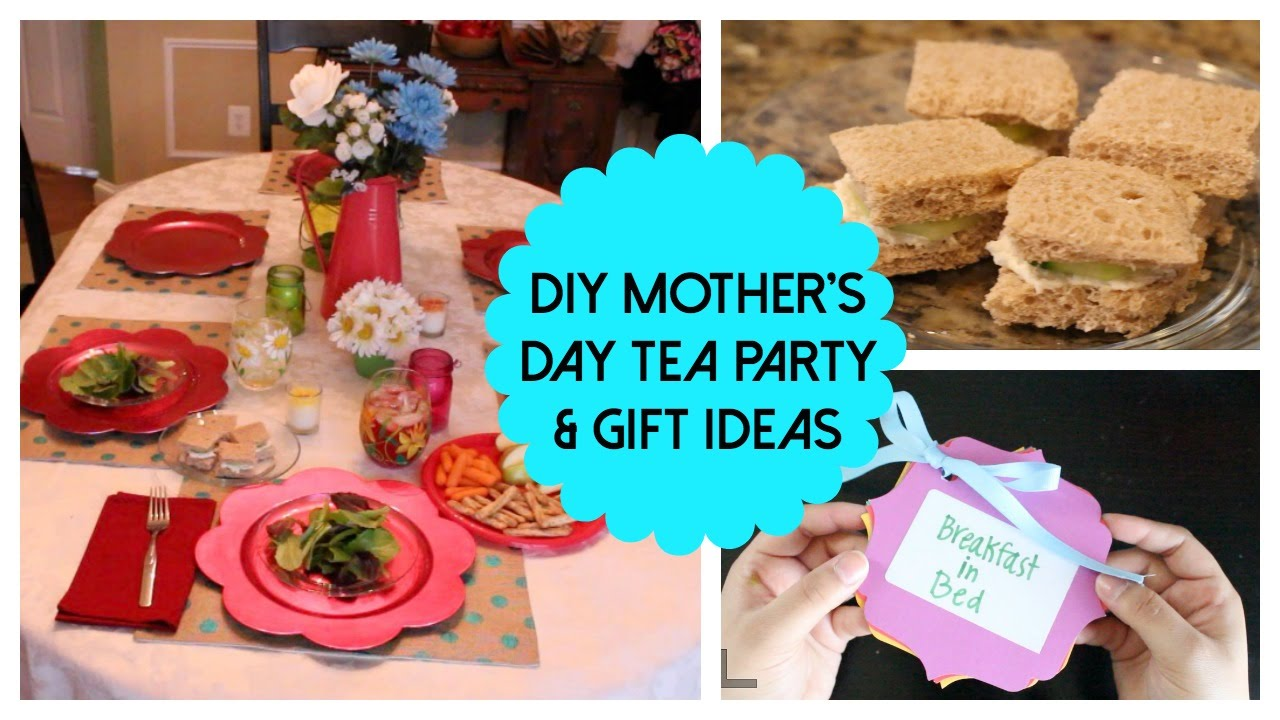 Diy Mothers Day Ideas Tea Party Gifts More 2015 Youtube