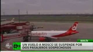 Detienen a dos pilotos en Berlín por el posible secuestro de un avión