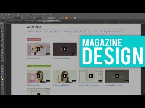 LEARN HOW TO DESIGN A MAGAZINE FOR FREE