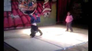 Bboy luke hughes vs bgirl eddie