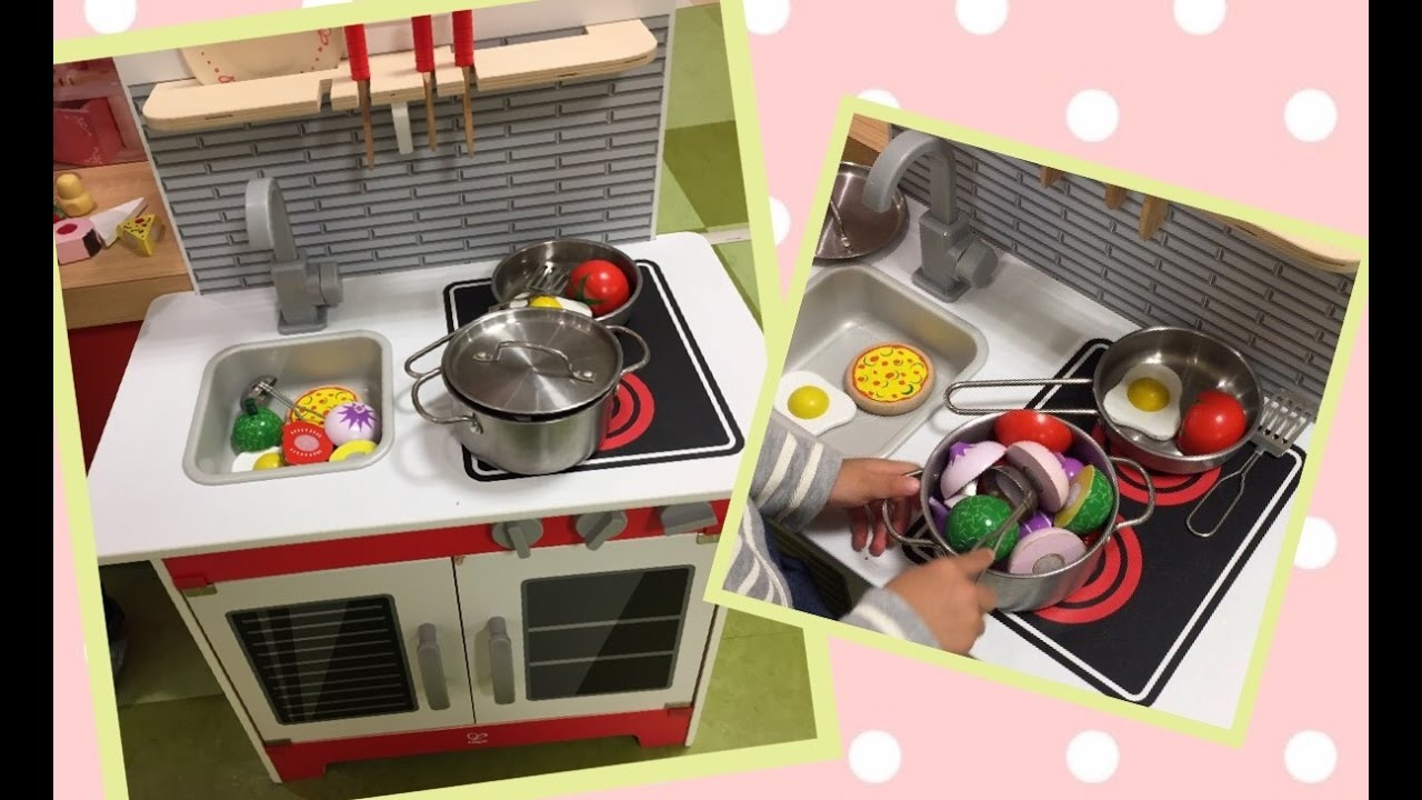Hape ☆city Cafe☆play Kitchen ☆gourmet Kitchen With