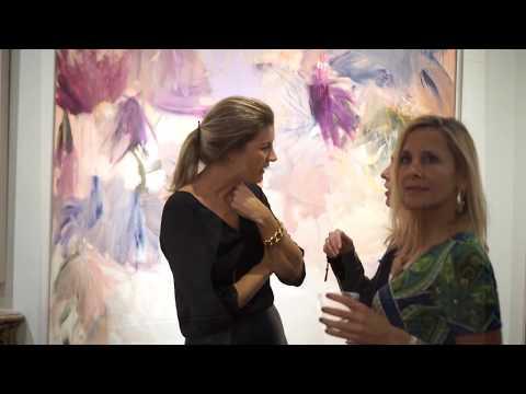 Art Gallery Reception for Spanish Artist Beatriz Elorza in New York