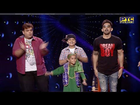 Studio Round 09   Babbal Rai   Sonu Gill   Voice of Punjab Chhota Champ 4   Full Episode
