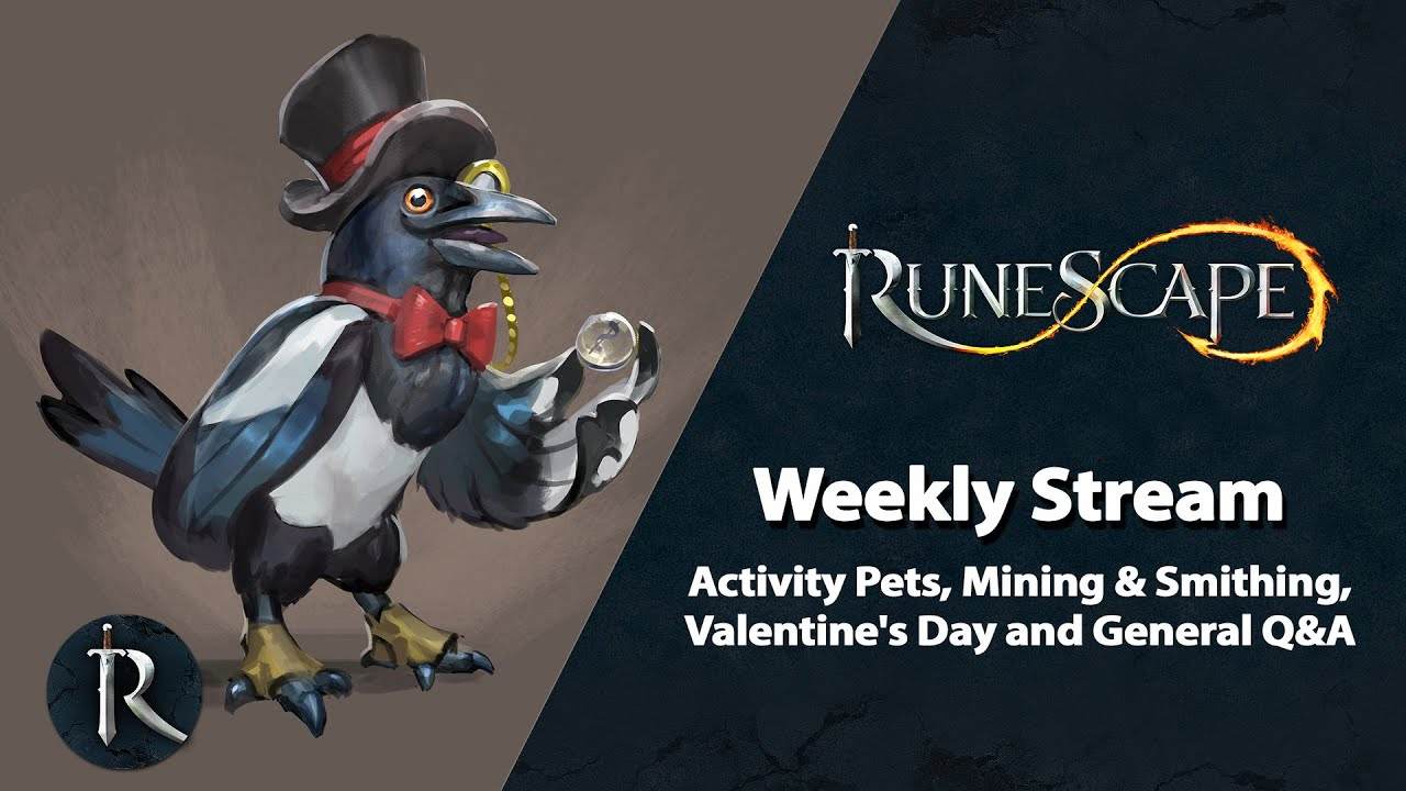 Runescape 3 2020 Halloween Pets Activity Pets, Mining & Smithing, Valentine's Day, etc   RuneScape