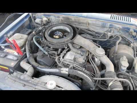Repeat Nissan KA24E Engine in 1985 Nissan 720 4x4 w