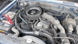 1985 Nissan/Datsun 720d Z24 Engine