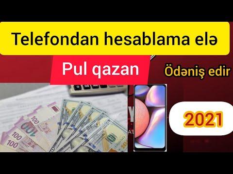 TELEFONDAN HESABLAMA ELƏ