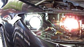 видео Фары и тюнинг Mazda 6
