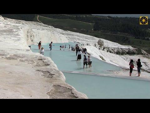 "TÜRKEI - Türkische Riviera Teil 2 ""Pamukkale - Naturwunder - Hierapolis - Laodicea"" TURKEY"
