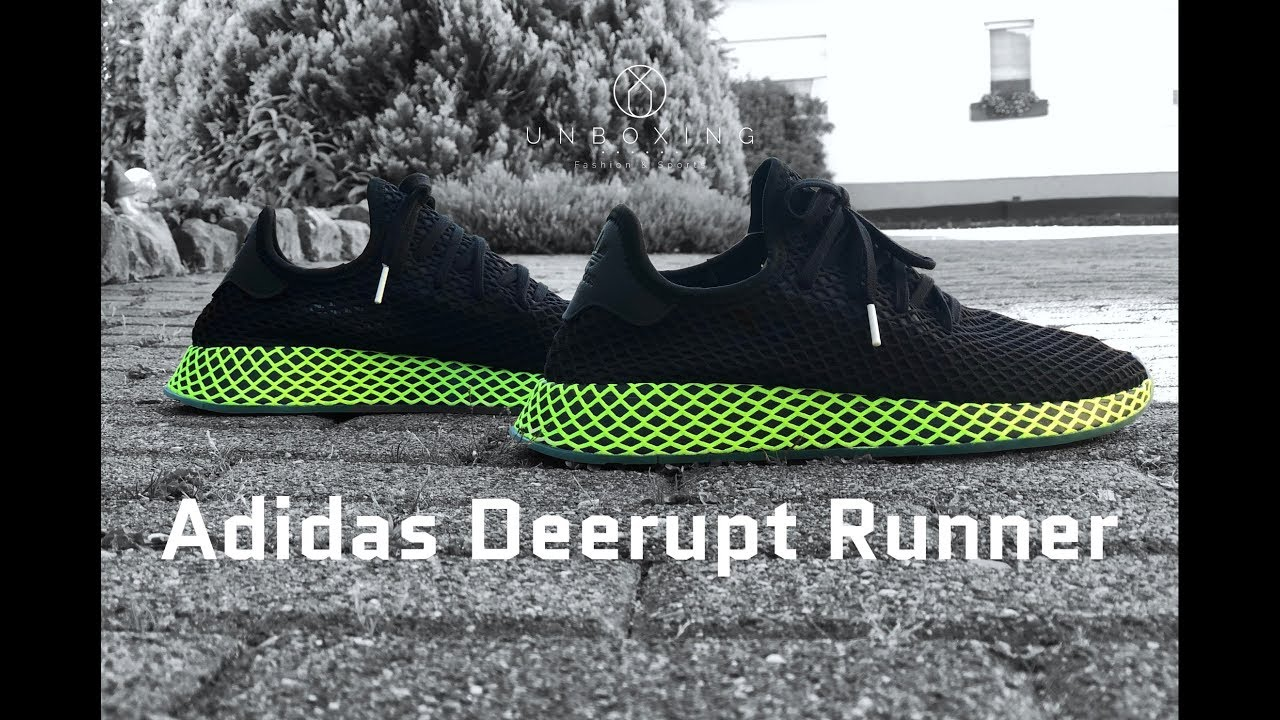 fa16de1c9a077 Adidas Deerupt Runner  core black ash blue