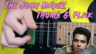 Baixar The John Mayer Thumb & Flick Technique | TMT