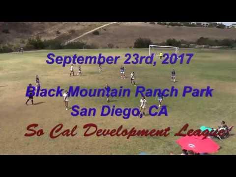 San Diego SC G'03 Academy Navy v Legends FC West G'02 (9/23/17)