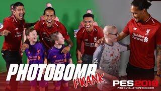 Firmino, Van Dijk & Trent's hilarious photobombing | PES2019 Prank