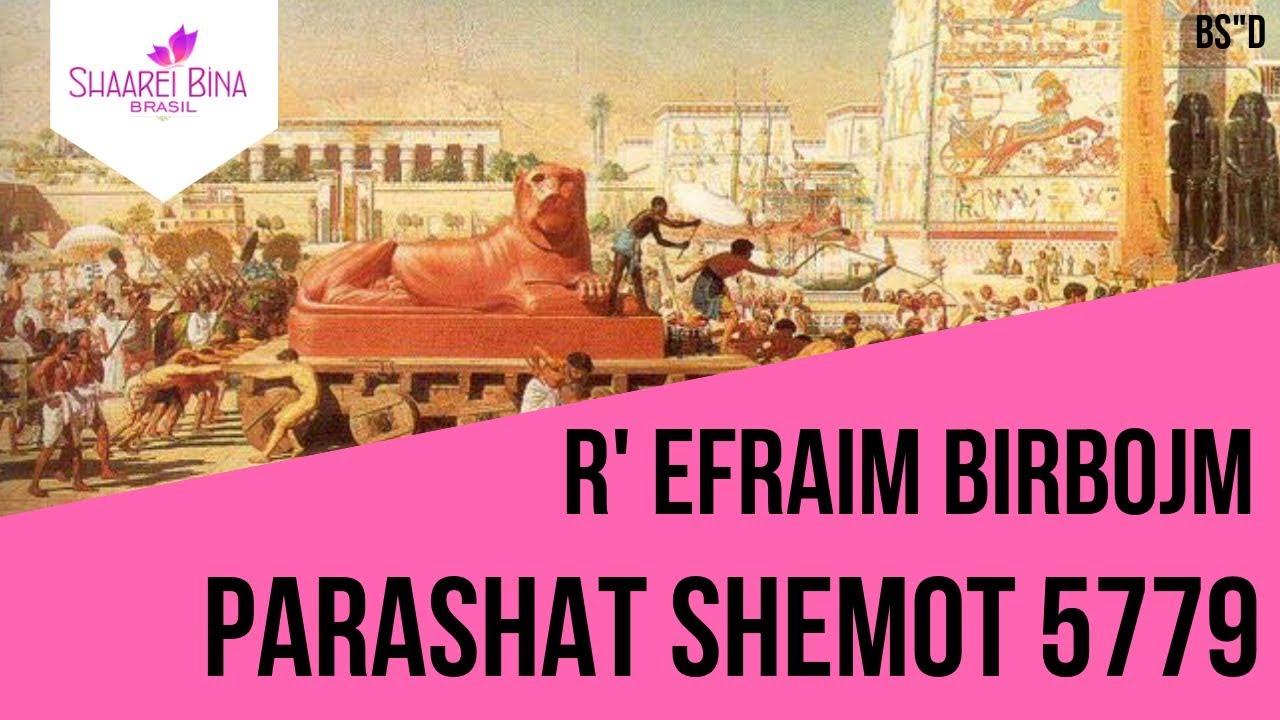 Parashat Shemot 5779 - R' Efraim Birbojm - Shaarei Biná Brasil