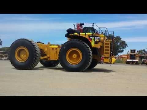 Testing a 793F Caterpillar mining dump truck. Video and audio test using Samsung Galaxy S4.