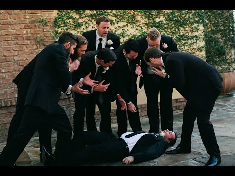 Best Man Collapses During Wedding