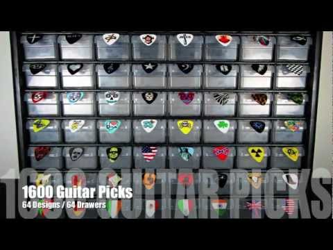 Seven Kings Guitar Pick Cabinet For Stores And Dealers