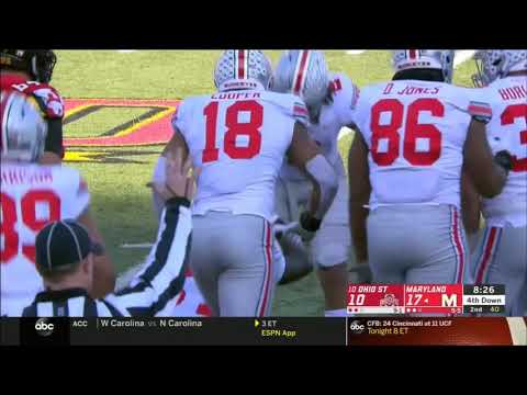 2018 - Ohio State Buckeyes At Maryland Terrapins In 40 Minutes
