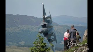 USAF F-15c Low Level in the Mach Loop
