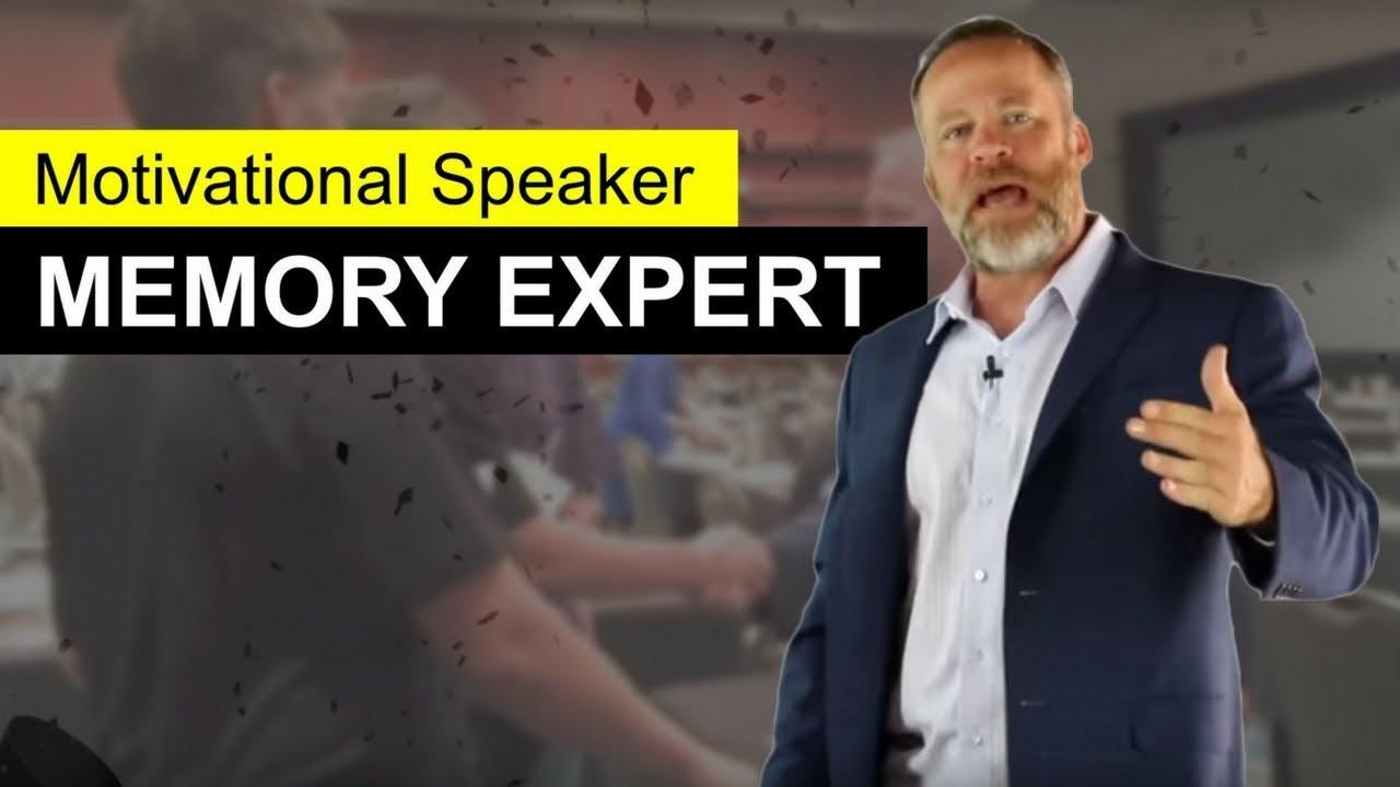 Motivational Speaker and Memory Expert Keynote
