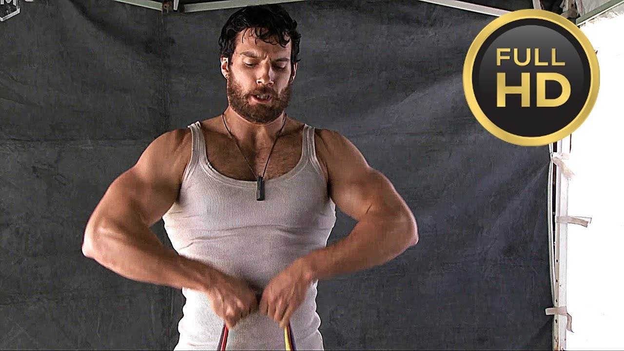 Henry Cavill Workout «Man of Steel» Behind The Scenes ...