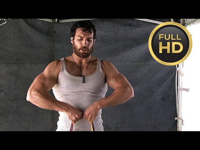 Henry Cavill Workout «Man of Steel» Behind The Scenes