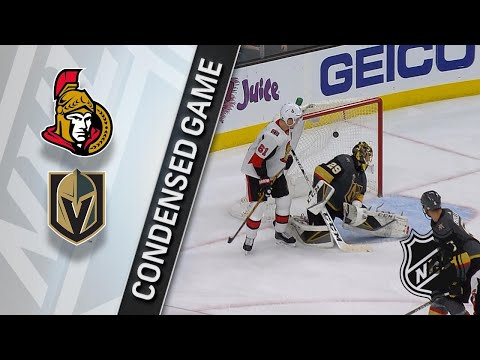 03/02/18 Condensed Game: Senators @ Golden Knights