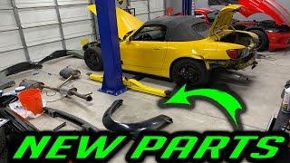 Rebuilding Supercar Suspects Honda S2000 - NEW PARTS - Part 2