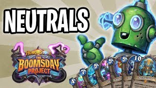 NEUTRALS Card Review | The Boomsday Project | Hearthstone