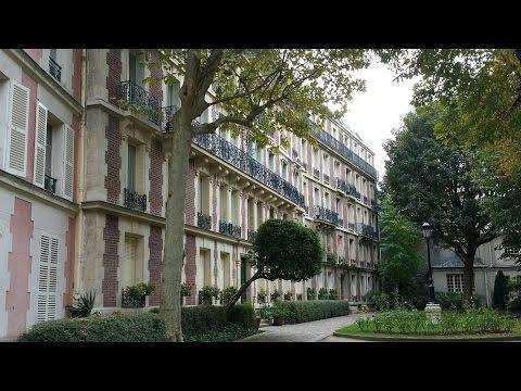 Hidden / Secret Paris rue Val-de-Grâce Home Courtyard  secrets & more!