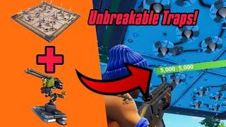 Unbreakable Traps Glitch In Fortnite Glitch (New) Fortnite Glitches Season 6 PS4/Xbox one 2018