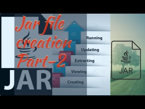 Jar File creation in java/ using them as a class path || java jar file and class path || Part-2