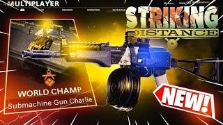 the NEW AK74u *WORLD CHAMP* BLUEPRINT in COLD WAR! (STRIKING DISTANCE BUNDLE)