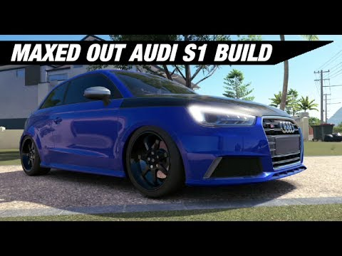Maxed Out Audi S1 Turbo Build - Forza Horizon 3