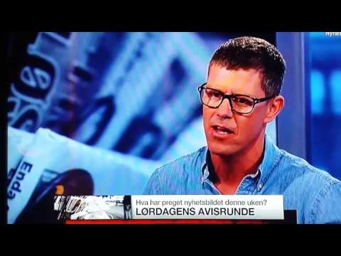 Tv2 Avisrunden Karlsen om Fake News fra Stavanger Aftenblad redaktør.