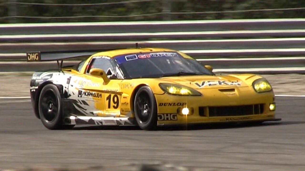Corvette C6R GT2 SOUND In Action On The Track - YouTube