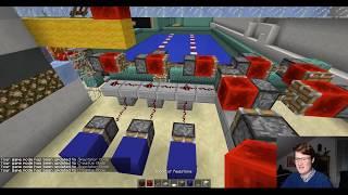 ⚠⚠ Redstone Bunker ⚠⚠ - Folge 107: Der neue Schwimmsport im Bunker w/ Facecam