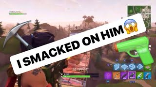 FORTNITE 1V1 GAME TIED... I LET HIM GET KILLS (Fortnite Battle Royale) No Mic :(